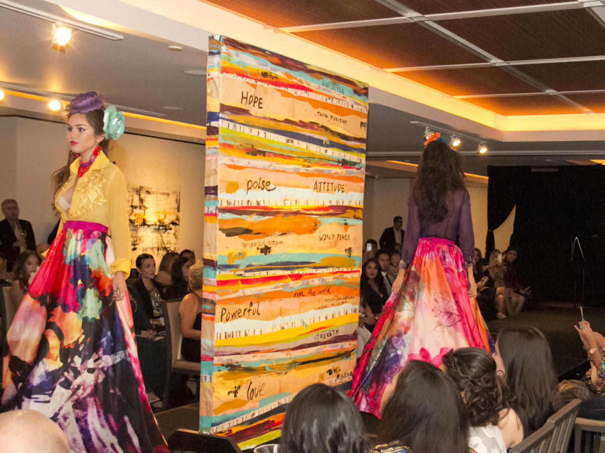 News, Shelby, Pedro Abasolo fashion show, Oct. 2015, Rosita Hurtado design