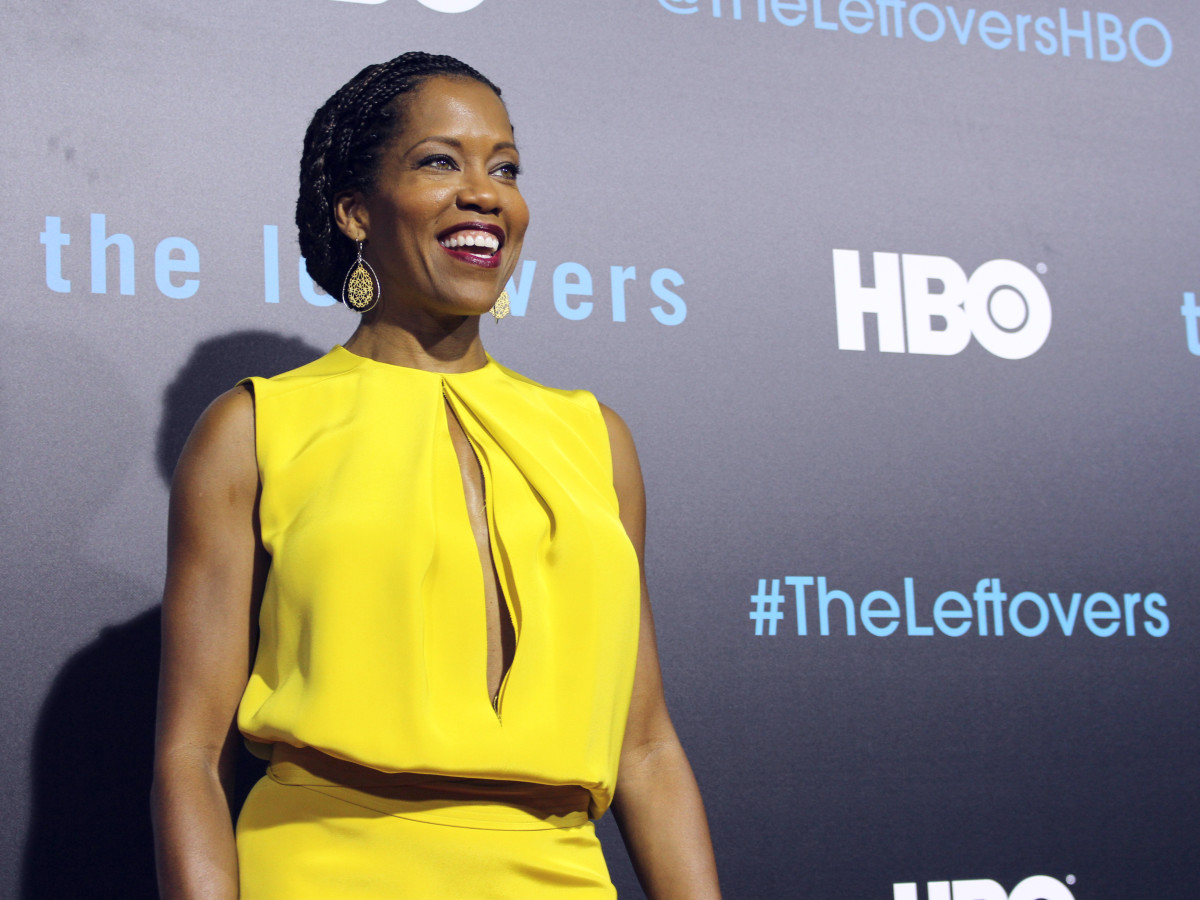 The Leftovers HBO Season 2 red carpet premiere Regina King October 2015