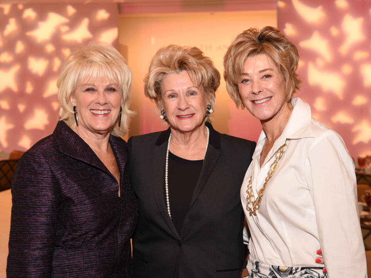 Assistance League Luncheon 2015 Liz Jameson, Ann Berry, Leila Gilbert