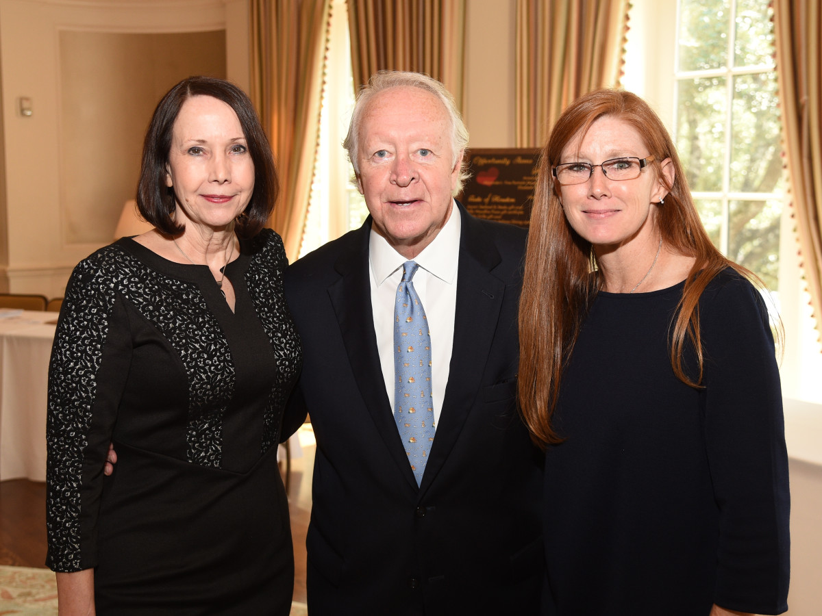 Assistance League Luncheon 2015 Jane Johnstone; Past Honoree, Judge Michael McSpadden; Elizabeth Anthony, Jennie Moroney