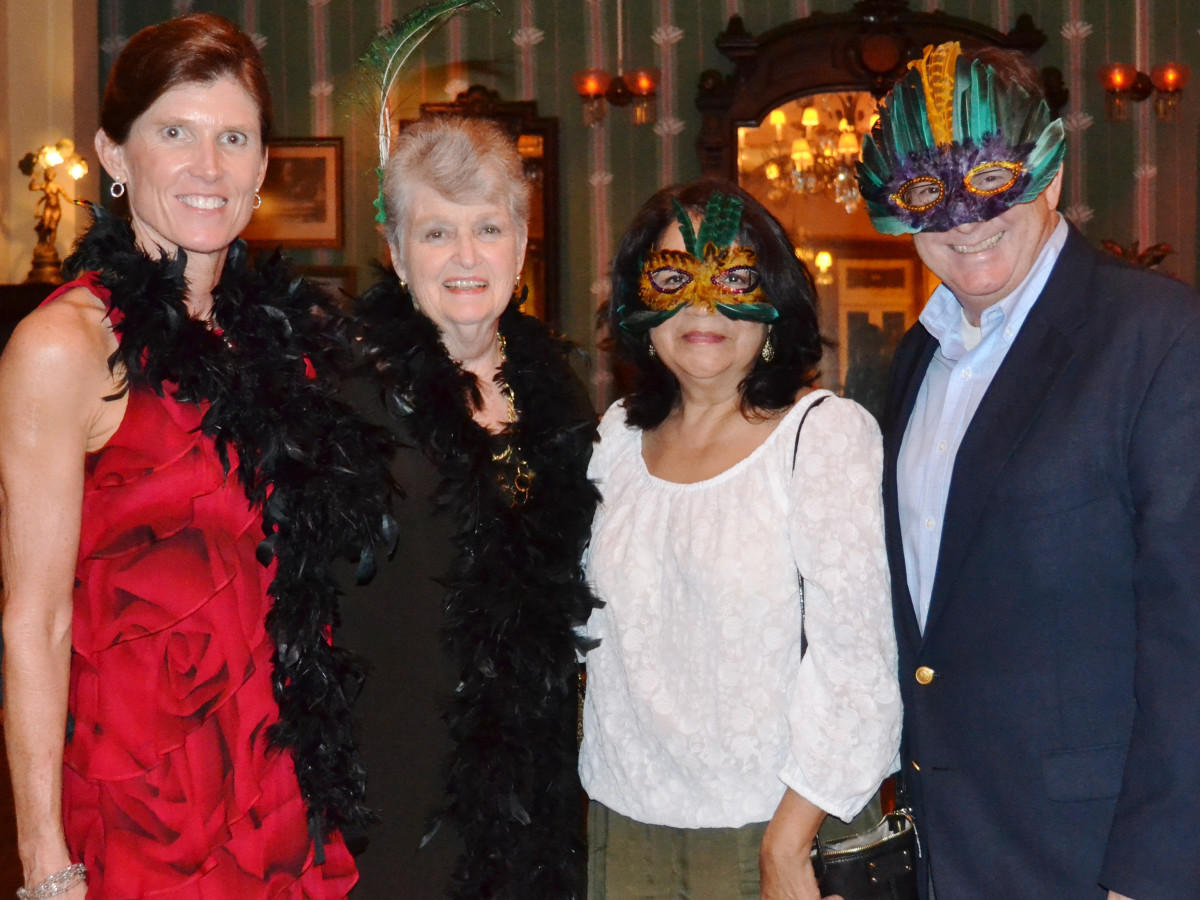 Houston, No-Tsu-Oh gala, September 2015, Diana Kokernot, Skip Britton, Sylvia Medina and Steve Parker