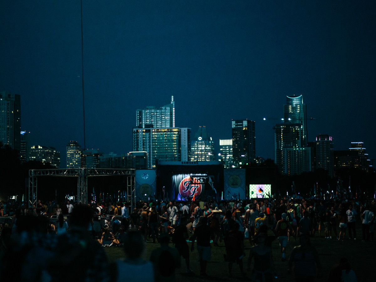 Austin City Limits Festival ACL 2015 Weekend One Day One Skyline