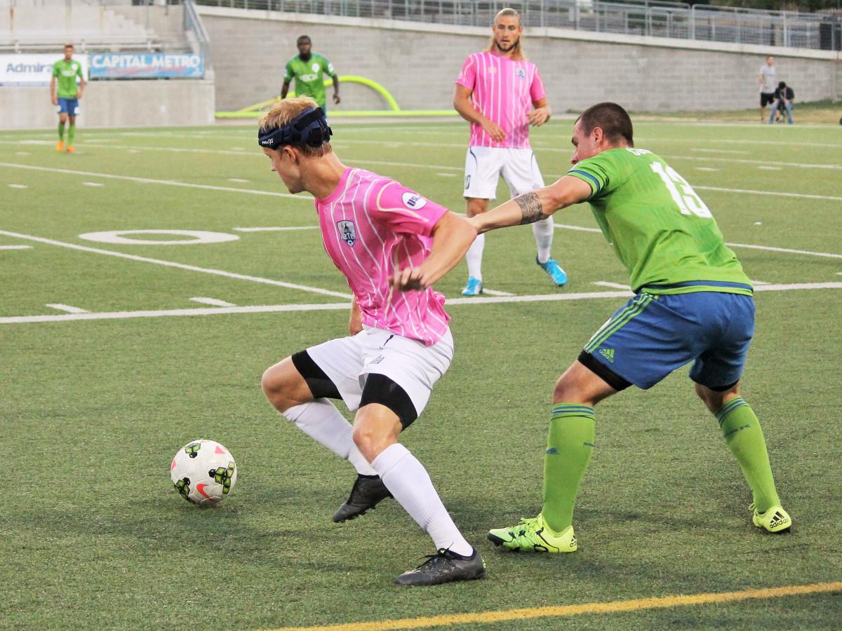 Austin Aztex Soccer Team Kris Tyrpak