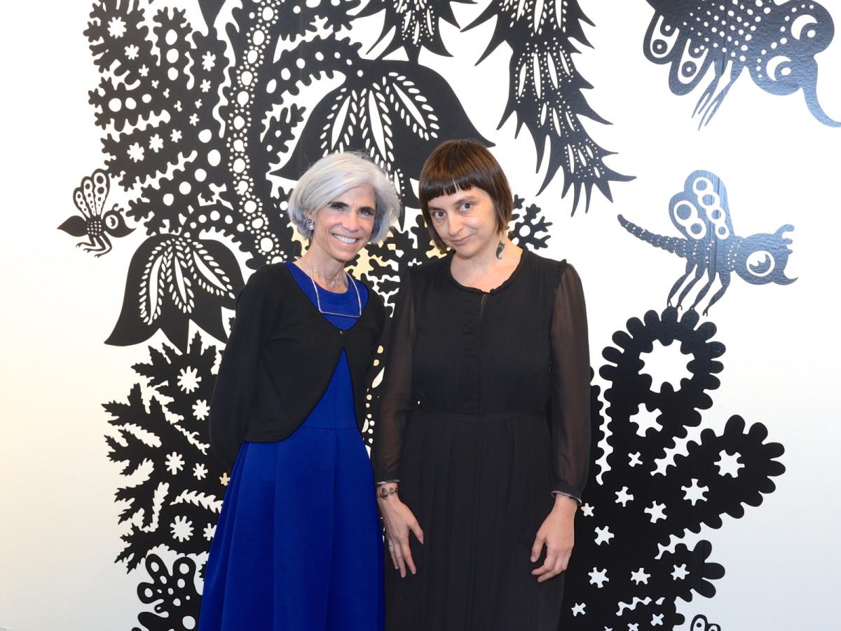 News, Shelby, Texas Contemporary, Oct. 2015, Judy Nyquist, Andrea Dezsoe