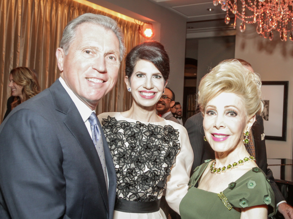 Hearts of Gold Gala Martin and Dr. Kelli Cohen Fein, Honoree Margaret Alkek Williams