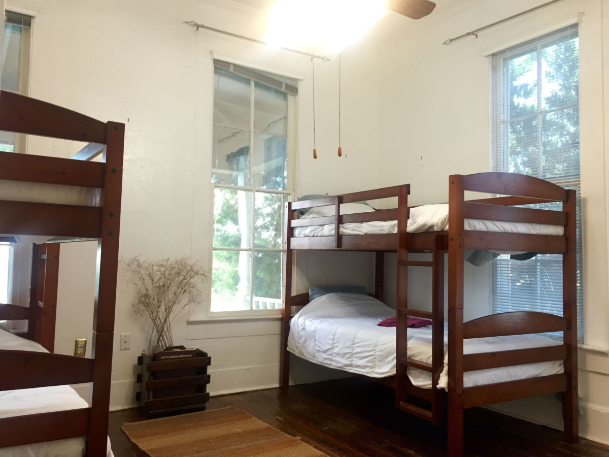 HK Austin hostel bunks