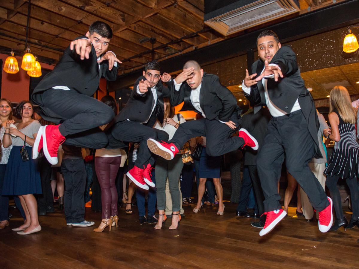 News, CultureMap Social, B&B Butchers, Sept. 2015  entertainers