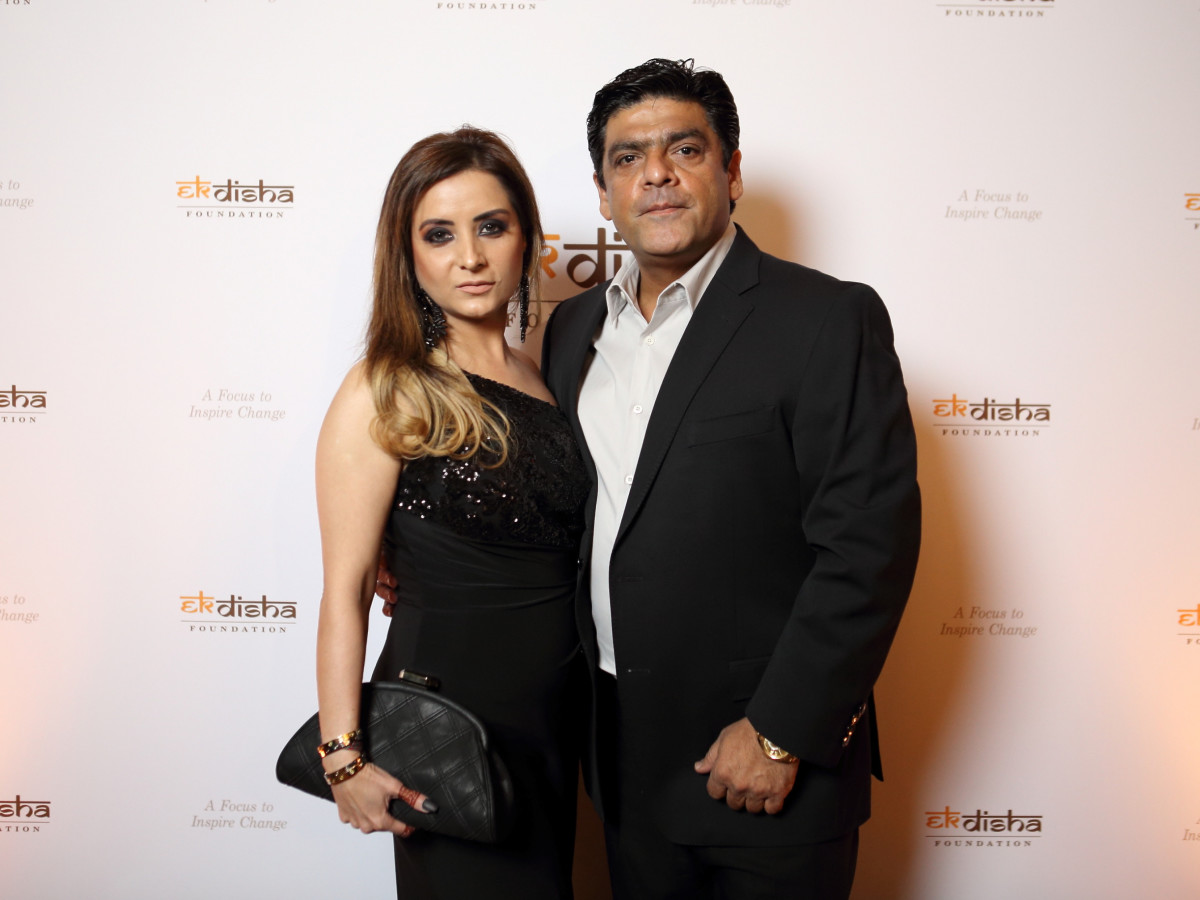 Bass Gala 2015 Shefali Tejani and Shabbar Tejani