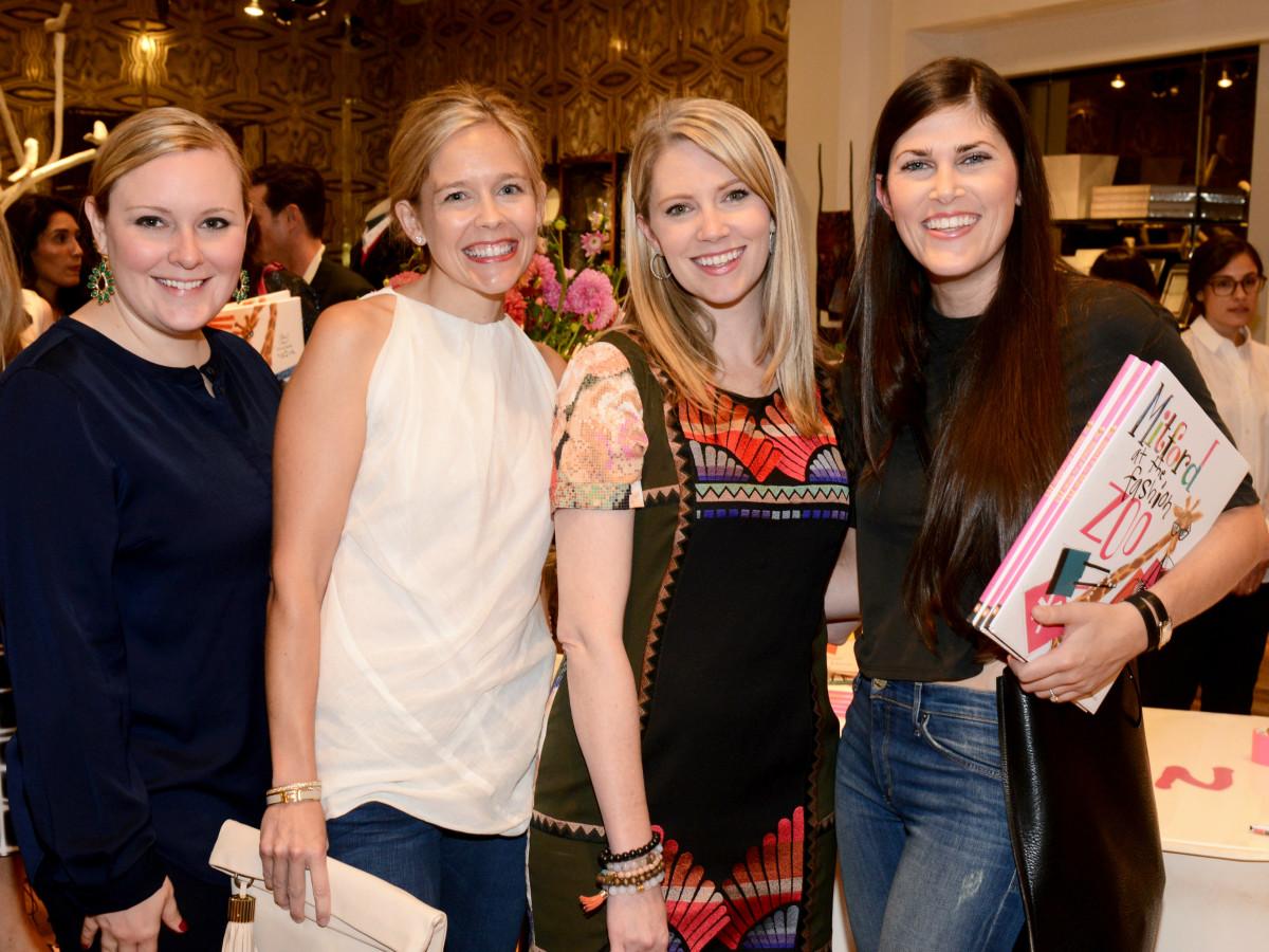 Jessica Baxter, Elaine Anderson, Laura Chancellor, Rachel Nash