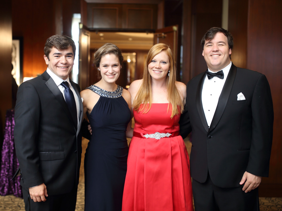 Big Brothers Big Sisters gala 2015 Steve Norman, Stephanie Abt, Erika Morton, Coby DuBose