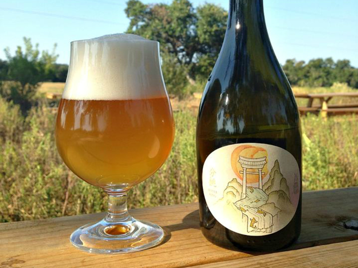 Jester King Brewery Fen Tao beer label 2015