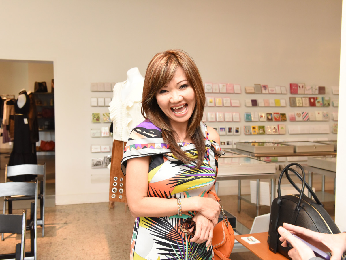 Mimi Nguyen at Recipe for Success Dress for Dinner event with Lucy Sykes