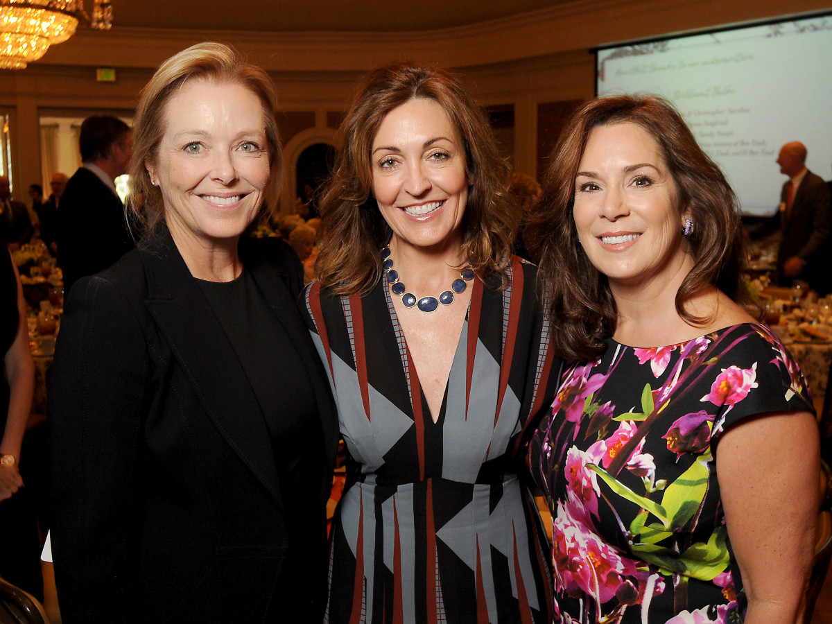 News, Shelby, Housotn Botanic Garden luncheon, Sept. 2015, Laura Sweeney, Elizabeth Galtney, Cherie Flores