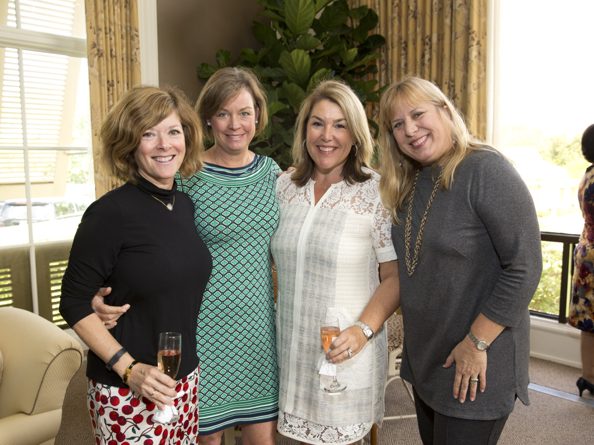 News, Shelby, Small Steps luncheon, Sept. 2015, Liane Phillips, Wendy Mixon, Lisa Walker and Alison Hogan