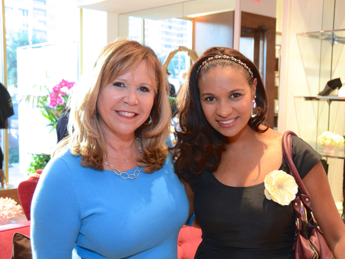 News, Shelby, Latin Women's Initiative party, Sept. 2015, Cyndy Garza Roberts, Diana Caicedo
