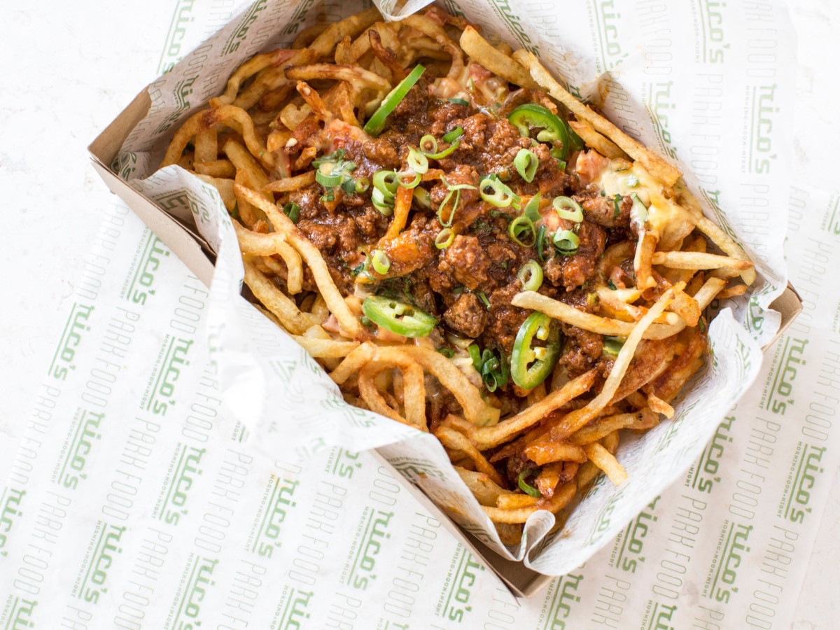 Rico's Chili Cheese Fries