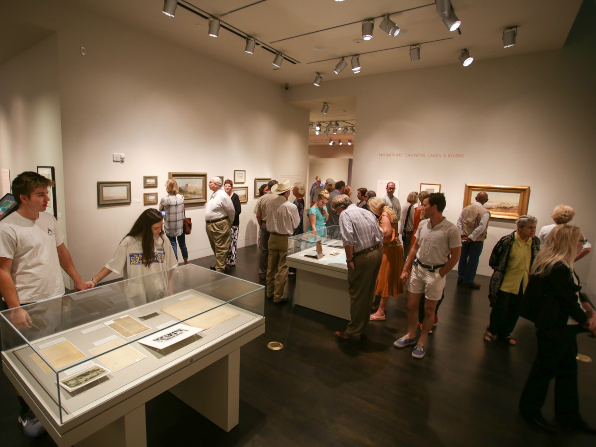 West by Southwest Harry Ransom Center exhibit interior September 2015