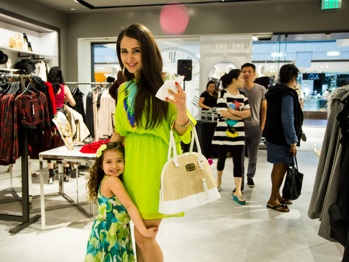 News, Shelby, Bebe party, Sept. 2015 Dyala Zaghbour (daughter) Sophia Zaghbour