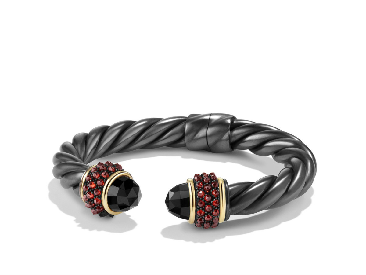 David Yurman Midnight Ice collection cuff