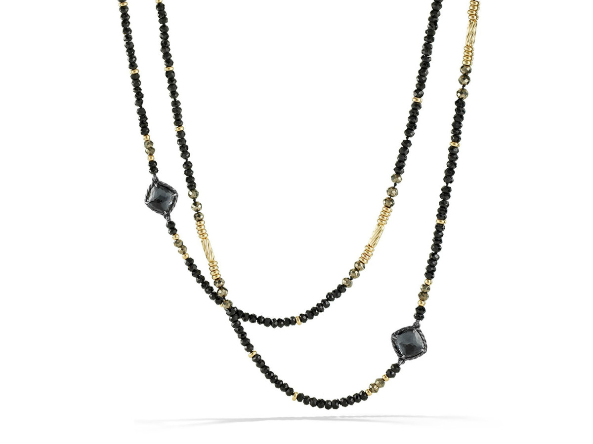 David Yurman Midnight Ice collection necklace