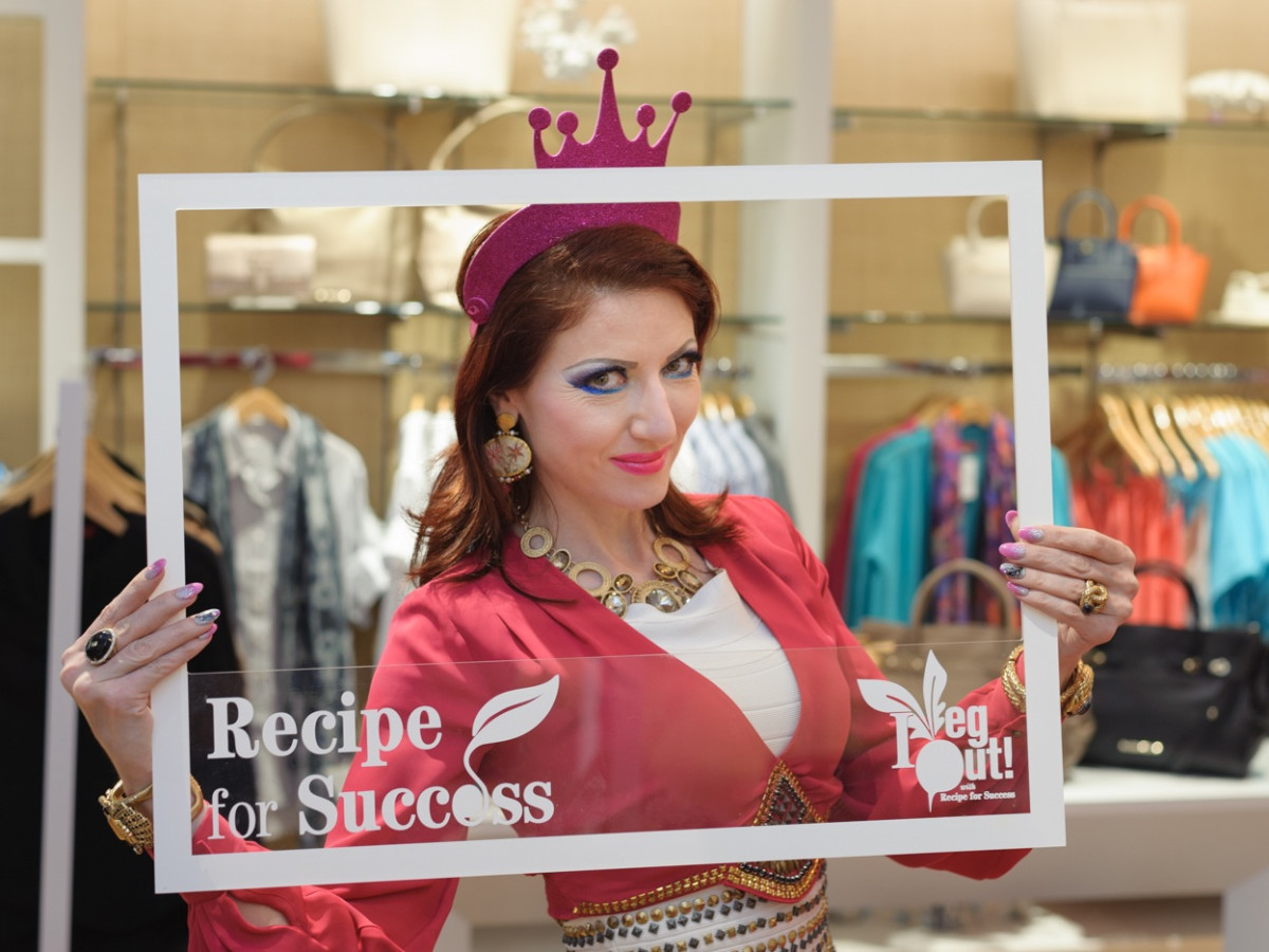 News, Shelby, Recipe for Success kick-off, Sept. 2015, Yasmine Haddad
