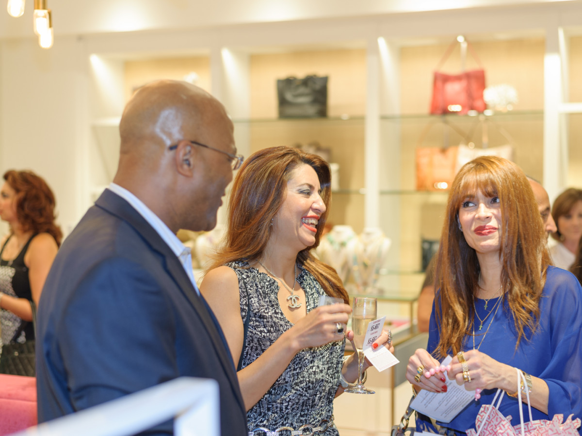 News, Shelby, Recipe for Success kick-off, Sept. 2015, Michael Pearce, Parissa Mohajer, Karina Barbieri