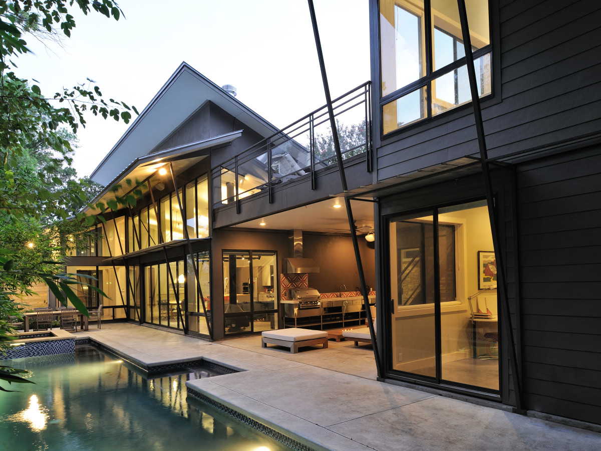 Houston, 5th Annual Houston Modern Home Tour, August 2015, 2232 Colquitt, pool