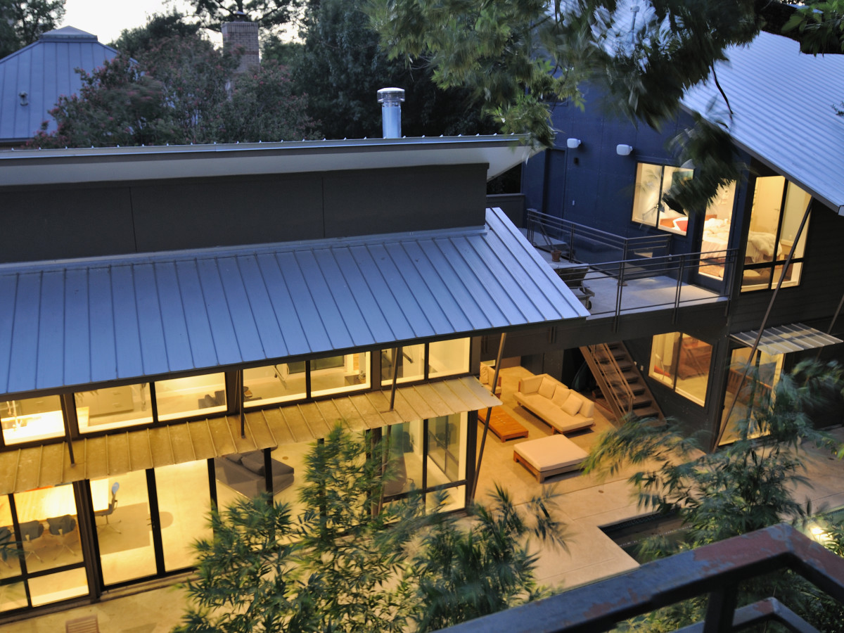 Houston, 5th Annual Houston Modern Home Tour, August 2015, 2232 Colquitt, arial view