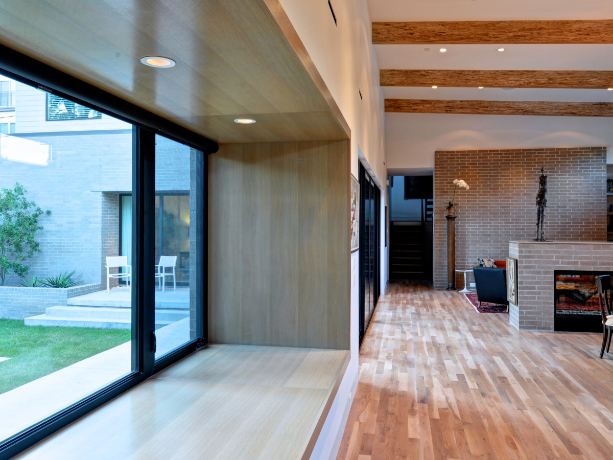 Houston, 5th Annual Houston Modern Home Tour, August 2015, 2308 North Blvd., interior