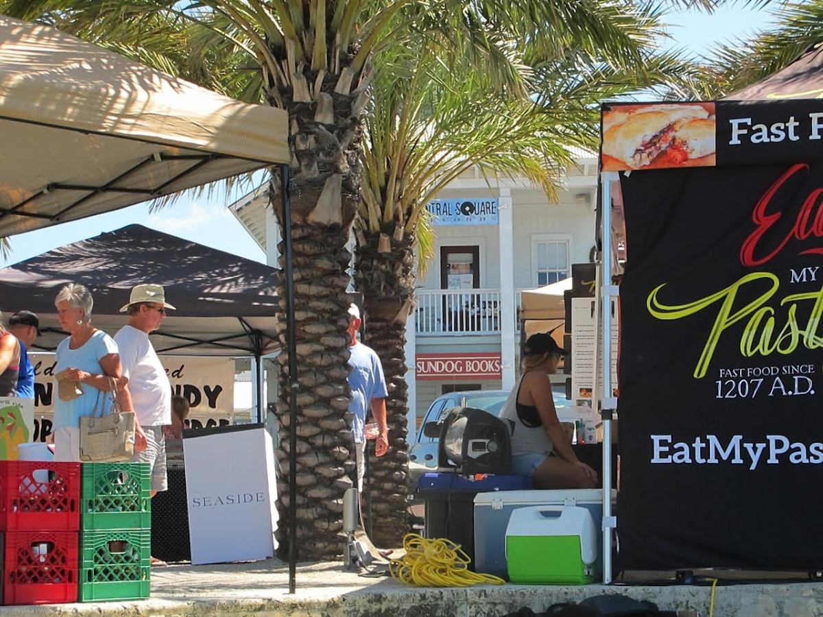 Seaside Florida farmers market