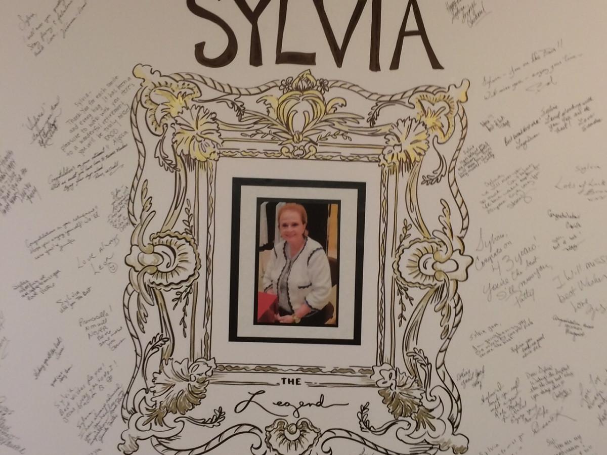 Sylvia Goldstein at Neiman Marcus goodbye card