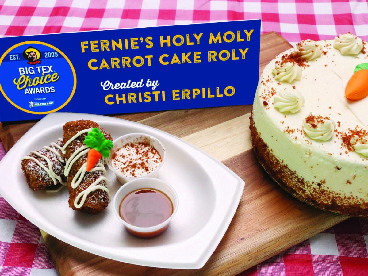Carrot Cake State Fair of Texas