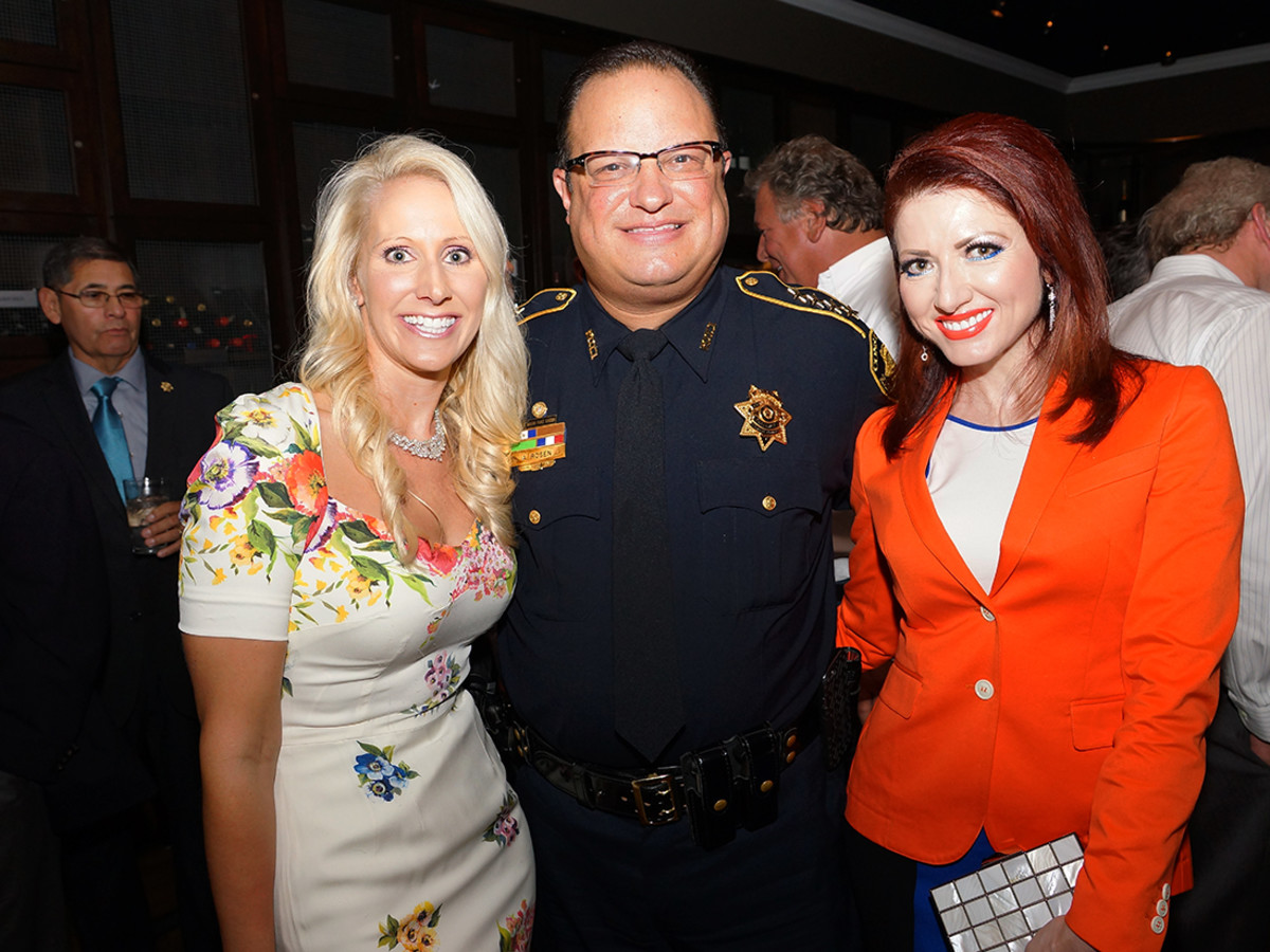 Houston, Unleashed K9's for Cops Kickoff Party, August 2015, Laurie Krohn, Alan Rosen, Yasmine Haddad