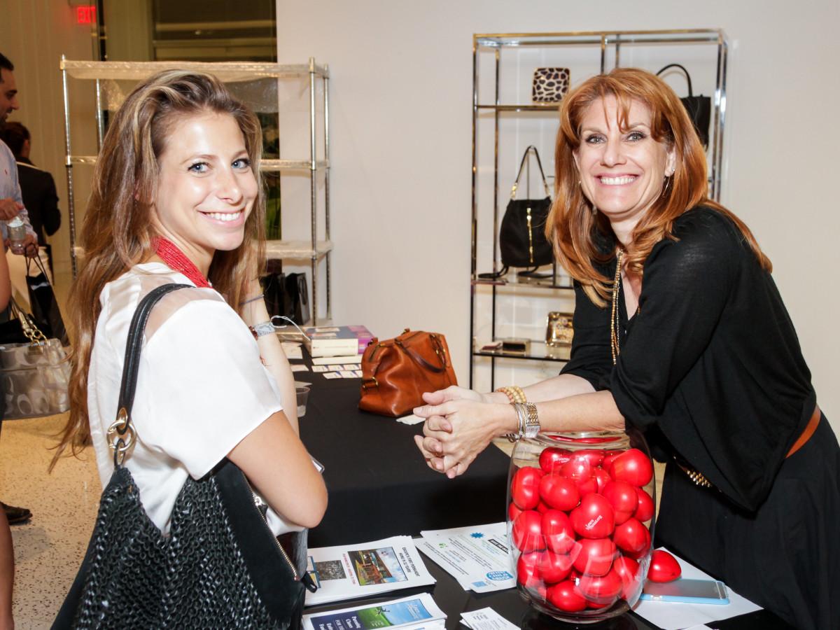 Houston, Ellevate event at Tootsies, August 2015, Rachel Tenenbaum, Jill Wasserstrom