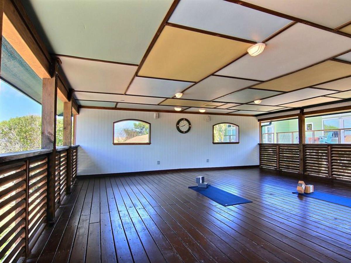 Balinese Wellness Spa Port Aransas retreat yoga deck