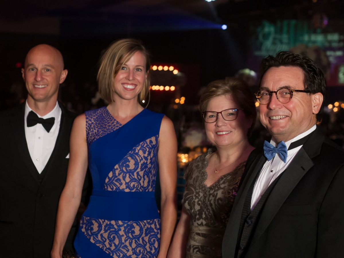 News, Shelby, Ensemble Theatre gala, Aug. 2015, Micha Miller Danette Miller Denise Domeracki Don Domeracki.