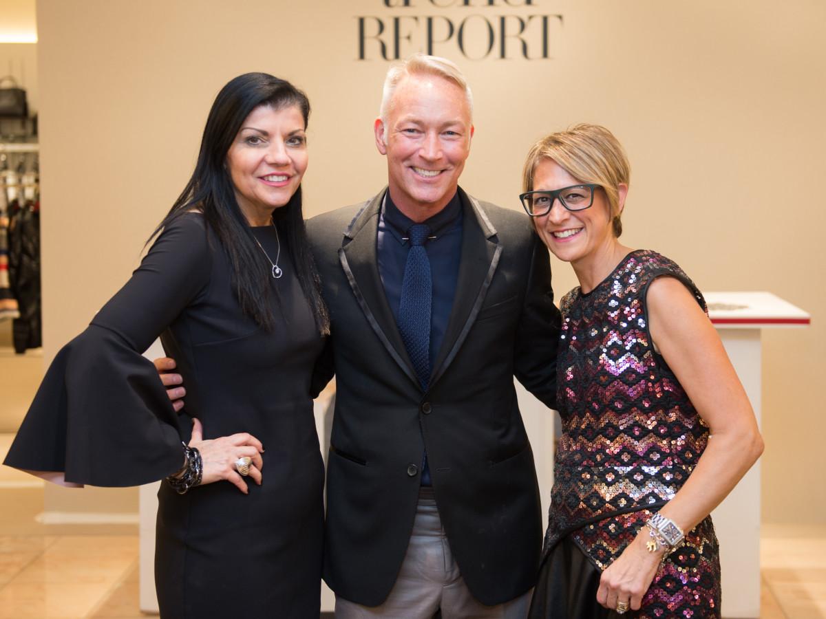 Neiman Marcus Trend Event Kathy Kates, Kel Rowe and Lori Caplin