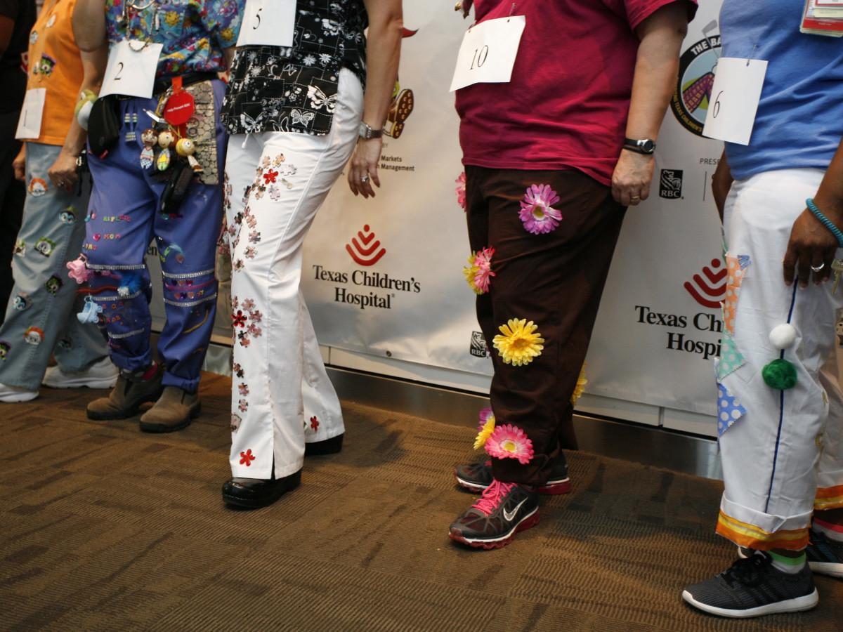Texas Children's Bad Pants Day 2015