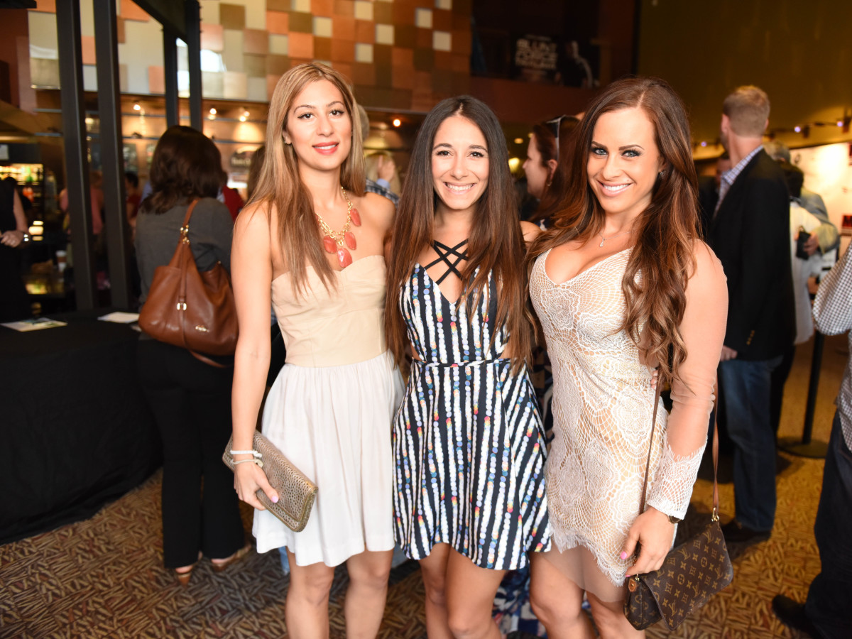 News, Shelby, Blunt Force Trauma premiere, Aug. 2015, Layal Elsaadi, Shireen Hadi, Alexis Paige