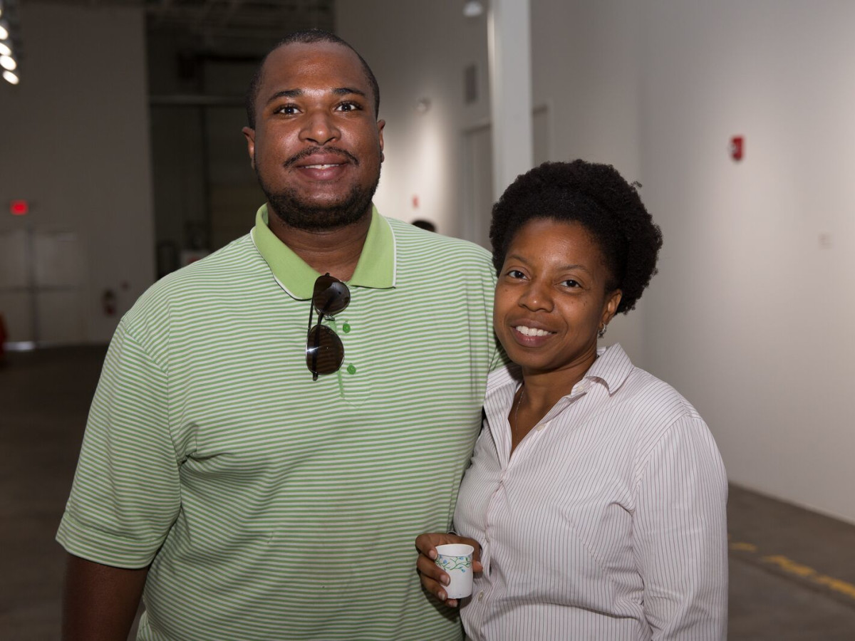 News, Shelby, Opera in the Heights party, August 2015,  Joe Leo, Lisa Pettway