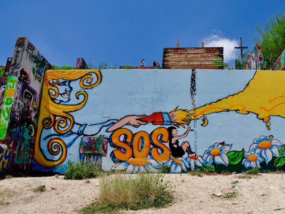 Castle hill graffiti park will be demolished but its not gone forever