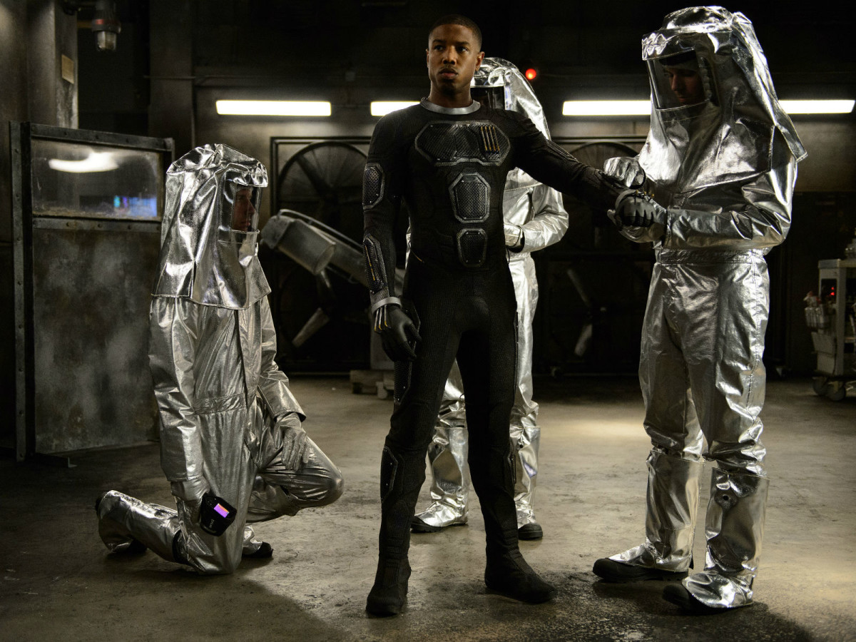 Michael B. Jordan in Fantastic Four