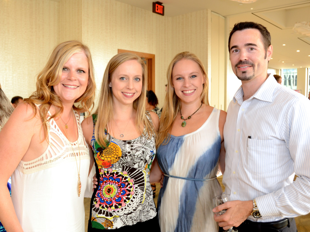 YP Zoo Aug 2015 Sarah Summers, Kara Hanshaw, Kristen Hanshaw, Chad Springer