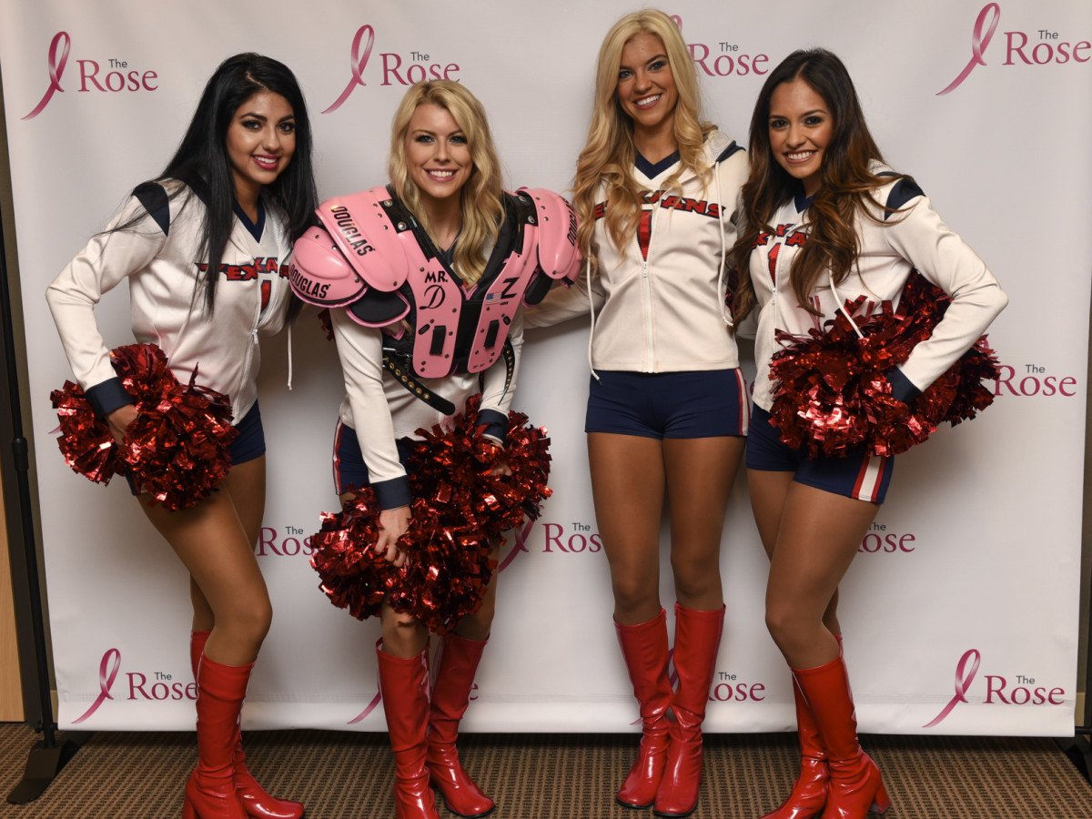 Houston, The Rose Pink Pads, July 2015, Texans cheerleaders
