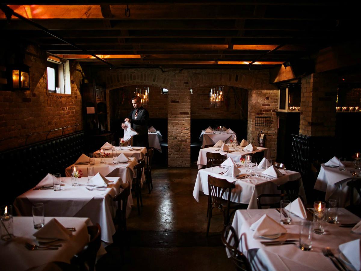 Bess Bistro Austin restaurant interior