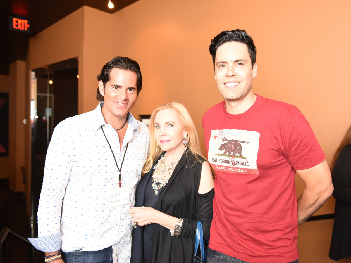 Houston, George Springer All-Star Bowling Benefit, July 2015, Micheal Garfield, Carolyn Farb, Gabe Canales
