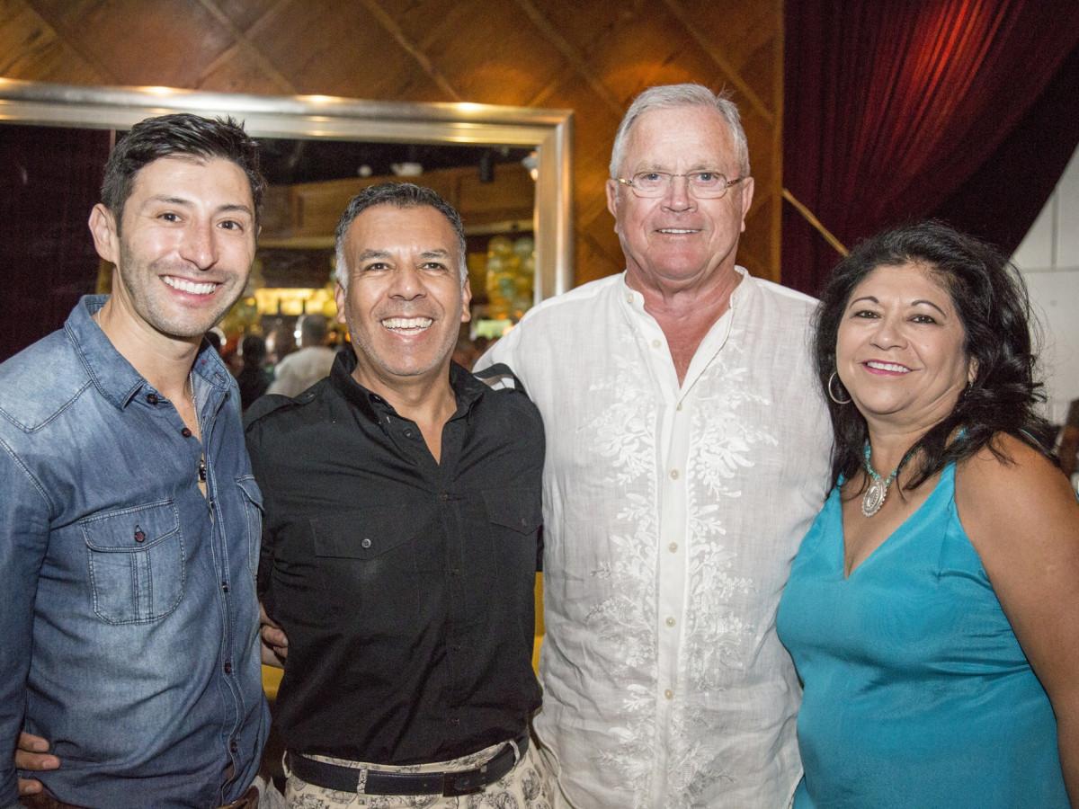 News, Shelby, Legacy Mint Julep party, July 2015, Jorge Cantu Landry, Tony Bravo, Richard Werner, Jani Lopez
