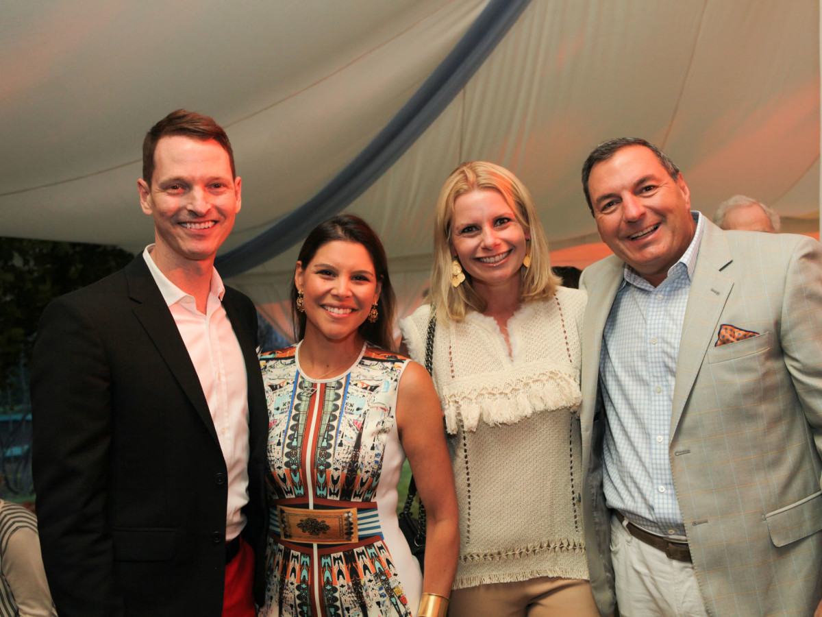 News, Shelby, M.D.Anderson in Aspen, July 2015, Brian McCullough, Estela Cockrell, Tracy and Valerie Dietrich