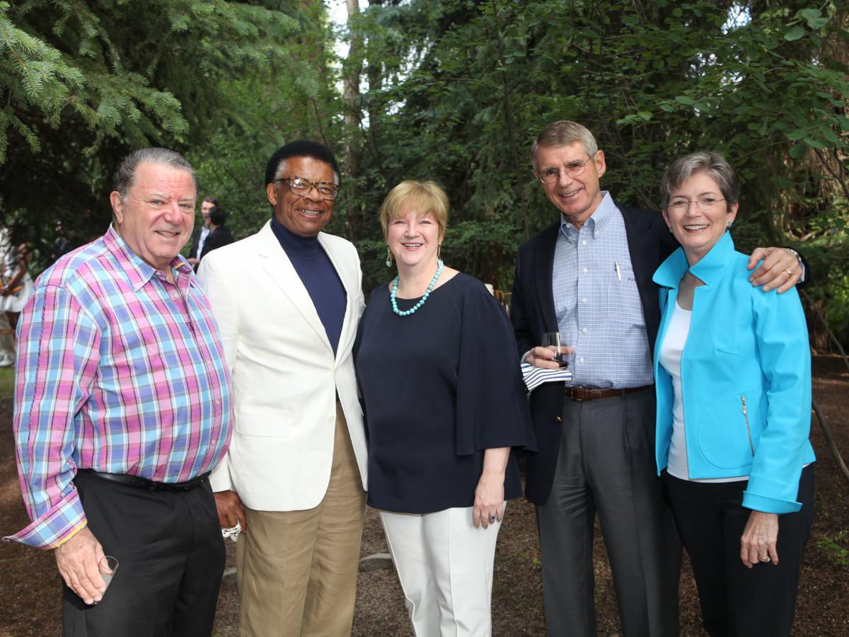 News, Shelby, M.D.Anderson in Aspen, July 2015, David Kudish, Rufus Cormier, Leslie Blanton, Jeff and Ann Dykes