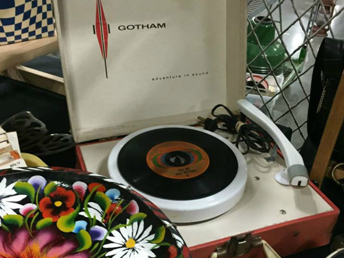 City-Wide Garage Sale Austin Palmer Events Center Gotham record player